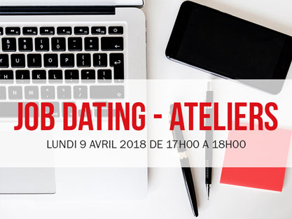 ATELIER JOB-DATING