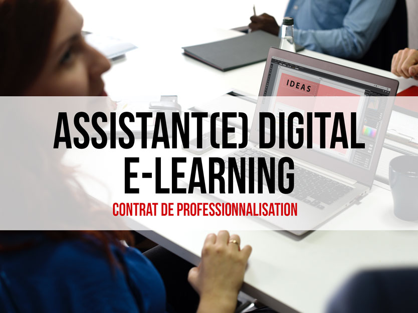 Assistant(e) Digital E-learning